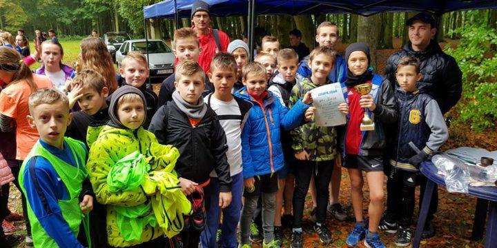 Pogoda w dniu dzisiejszym nie spisała się, za to spisali się uczestnicy Mistrzostw Powiatu Gryfickiego w biegach przełajowych.