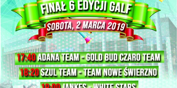 Finał 6 edycji Gryfickiej Amatorskiej Ligi Futsalu (02.03.2019)