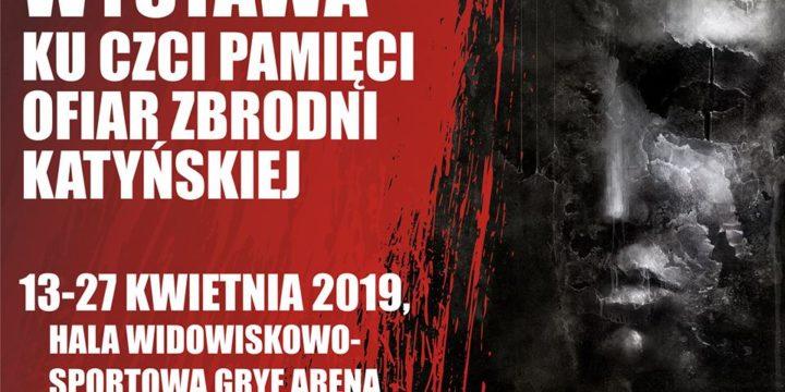 Wystawa ku czci pamięci ofiar zbrodni Katyńskiej