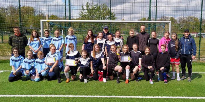 Igrzyska Młodzieży Szkolnej – Mistrzostwa Powiatu Gryfickiego w piłce nożnej dziewcząt