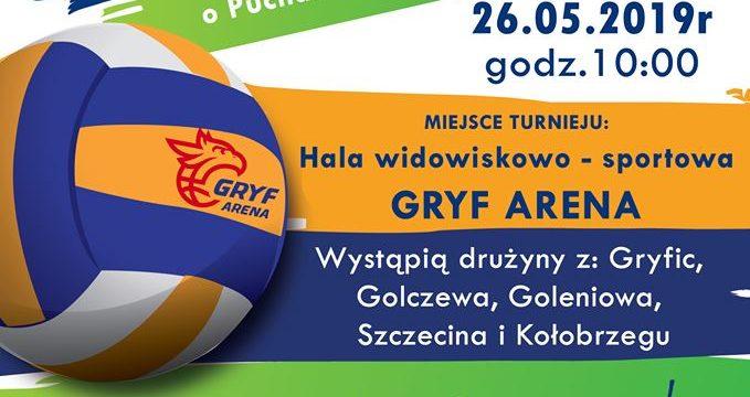 Turniej w mini siatkówce w kategorii czwórek dziewcząt o Puchar Burmistrza Gryfic