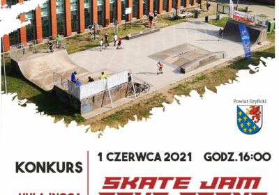 SKATE Jam  Gryf Arena – 01 czerwca 2021!